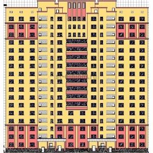 17-этажный монолитный жилой дом в г.Раменское