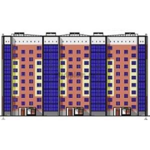 9-ти этажный жилой дом с подземным гаражом в г. Сыктывкар