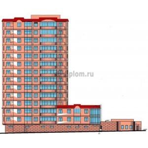 14-ти этажный жилой дом с подземной автостоянкой в г. Москва