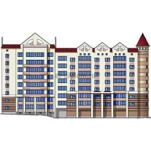Многоэтажный 52 квартирный жилой дом в г. Воронеж