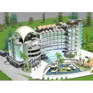 Управление строительством и эксплуатацией 8-этажного гостинично-оздоровительного комплекса в г.Туапсе