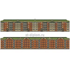 Экспертиза и управление недвижимостью на примере 4-этажного жилого дома в г.Омск
