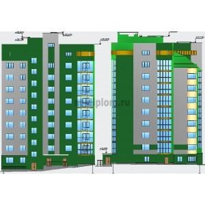 Экспертиза и управление строительством 9-этажного кирпичного жилого дома в г.Новосибирск