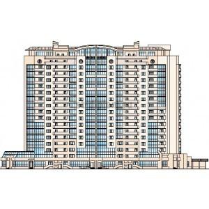 Управление девелоперским проектом 16-этажного 4-секционного жилого дома с подземной парковкой в г.Краснодар
