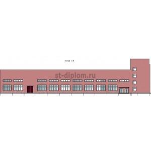 Реконструкция промышленного здания с целью повышения его коммерческой эффективности в г. Волжский