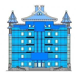 Здание Верховного Суда в г.Кызыл респ.Тыва