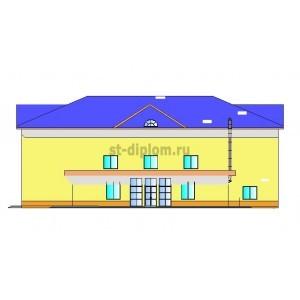 Реконструкция кинотеатра Родина под многофункциональное здание в пгт.Климово Брянской обл