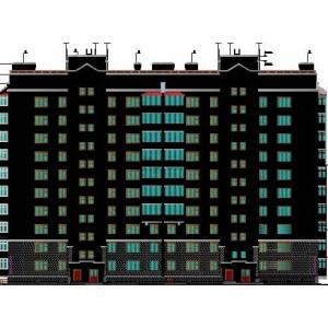 10-этажный жилой дом с общественными помещениями в г.Новосибирск