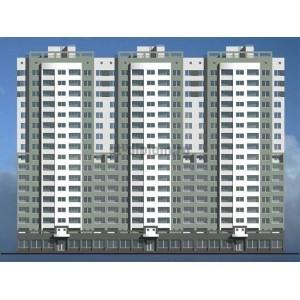Реконструкция 16-ти этажного жилого дома в г.Самара