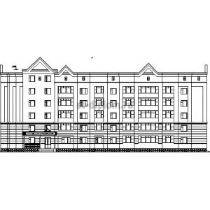 Пятиэтажный жилой дом со встроенной амбулаторией в г. Пенза
