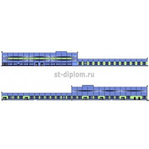 Производственный корпус станции техобслуживания в г.Саратов