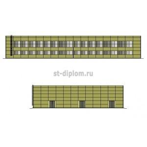 Складской терминал для хранения оборудования энергетики в г.Красноярск