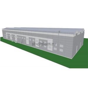 Завод по производству элементов каркасно-панельных домов в г.Липецк