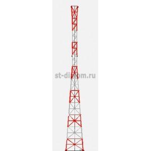 Антенная опора в пос.Таватуй Свердловской области