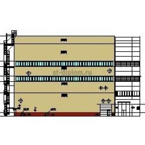 Расширение корпуса кислородного цеха металлургического комбината в г.Новолипецк