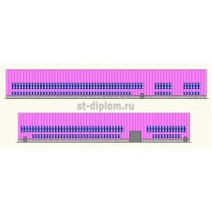 Универсальное производственное здание в г.Челябинске