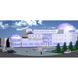 Торгово-офисный центр Меркурий площадью 6800 кв м в г.Казань