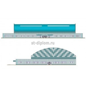 Крытая ледовая арена в г.Уссурийск