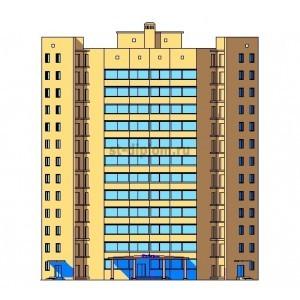 12-этажная гостиница в г.Курск