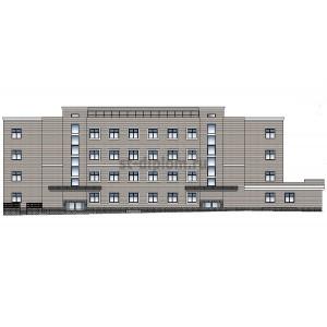 Терапевтическое отделение в составе больничного комплекса в г.Москва