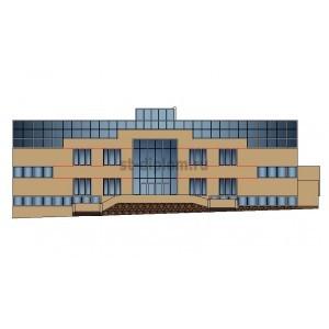 2-этажное кирпичное здание банка в г.Пенза