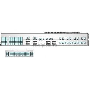 Здание автосалона со встроенным техсервисом в г.Казань