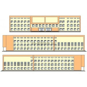 3-этажная школа на 1000 учащихся в г.Краснодар