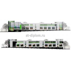 5-этажный торгово-выставочный комплекс в г.Екатеринбург