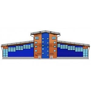 Организация строительства крытого спорткомплекса без трибун в г.Ломоносов