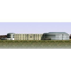Здание школы на 900 учащихся в пгт.Долгое