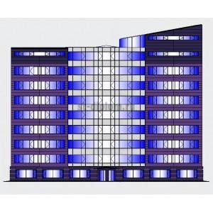 9-этажное административно-офисное здание в г.Санкт-Петербург