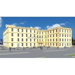 Организация строительства 4-этажного образовательного учреждения в г.Туркменабад, Туркменистан