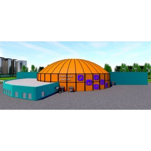 Универсальный спортивный комплекс на 500 мест в г.Ярославль