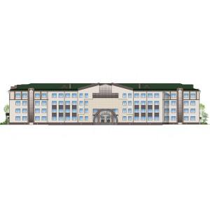 Общеобразовательная школа-интернат на 830 учащихся в г.Владивосток