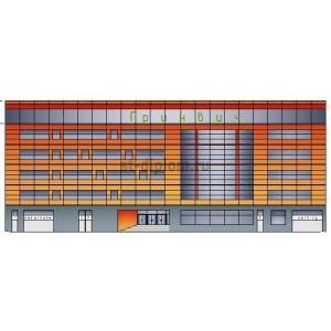 Торговый комплекс Гринвич с закрытой парковкой в г.Самара