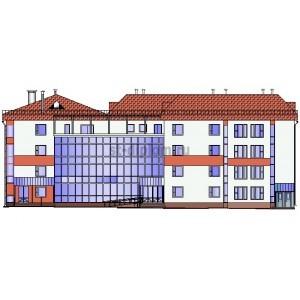 Реконструкция детского сада с надстройкой двух этажей под начальную школу в г.Витебск