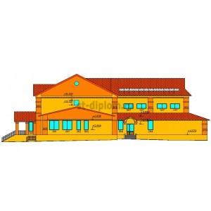 Сельская общеобразовательная школа на 48 учеников в д.Быдыпи Балезинского района Удмуртской республики