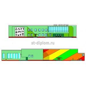 Дом молодежи со зрительным залом на 580 мест в г.Ливны