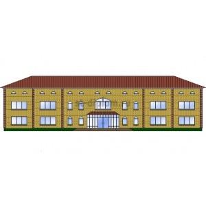 Здание отдела полиции в г.Абдулино