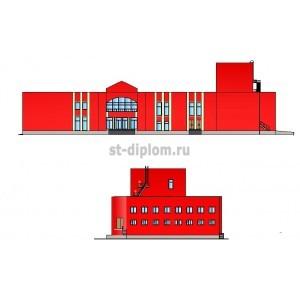 Спортивно-культурный комплекс в г.Сорочинск