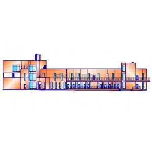 Хозяйственно-бытовой корпус биатлонного комплекса в г.Чайковский