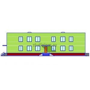 2-этажный детский сад-ясли на 95 мест в г.Вышний Волочёк