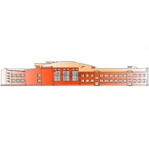 Школа-интернат на 300 человек в г.Ханты-Мансийск