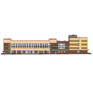 Средняя общеобразовательная школа на 1100 мест в г.Балашиха