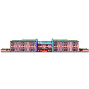 Школа на 33 класса с клубно-спортивным блоком в г.Воронеж