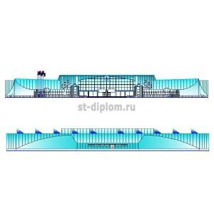 Крытый ледовый дворец в г.Москва