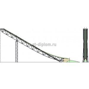Лыжный трамплин в г.Петрозаводск