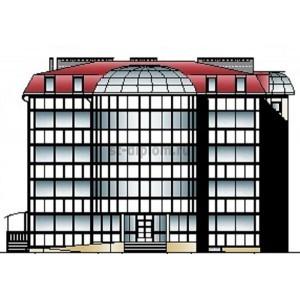 4-этажное общественное здание с мансардным этажом в г.Псков