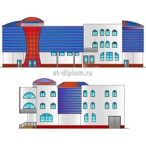Проектирование семейного торгово-развлекательного центра в г.Тюмени