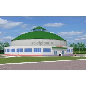 Спортивный комплекс в г. Чебоксары на 1500 зрителей